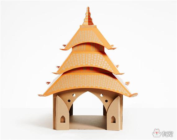 给你美丽的纸箱城堡