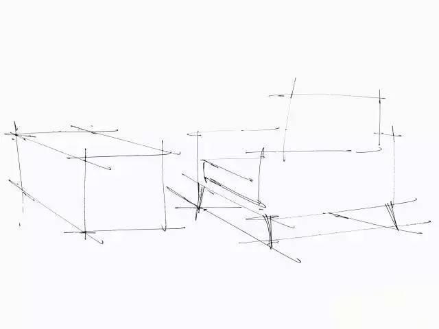 其它 正文  手绘单体线稿表现 练习直线,横线,斜线根据线的长短,疏密