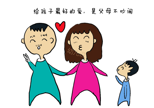 孩子和母亲牵手简笔画