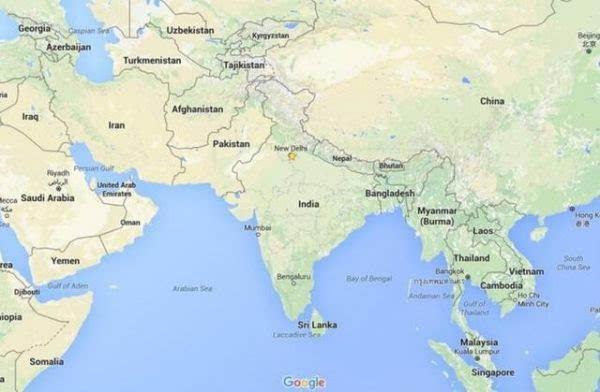 印度政府吓唬谷歌:地图数据错误将面临高额罚款或坐牢
