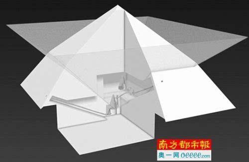 科学家用宇宙射线建构埃及金字塔内部三维图像