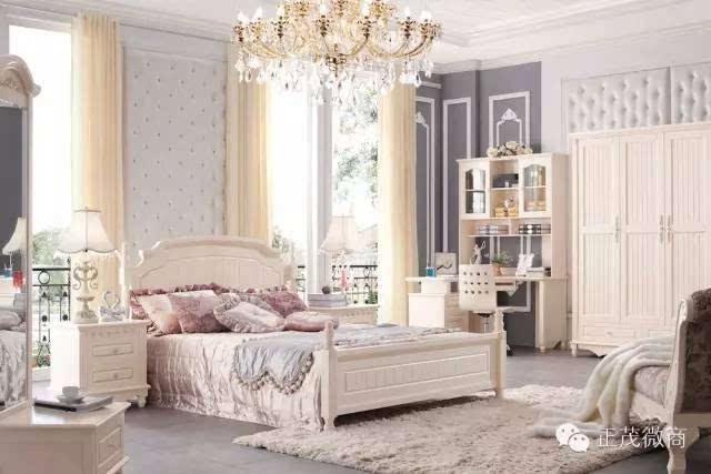 欧式卧房家具
