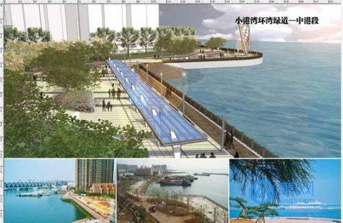 小港湾环湾绿道即将竣工 青岛再增滨海风景