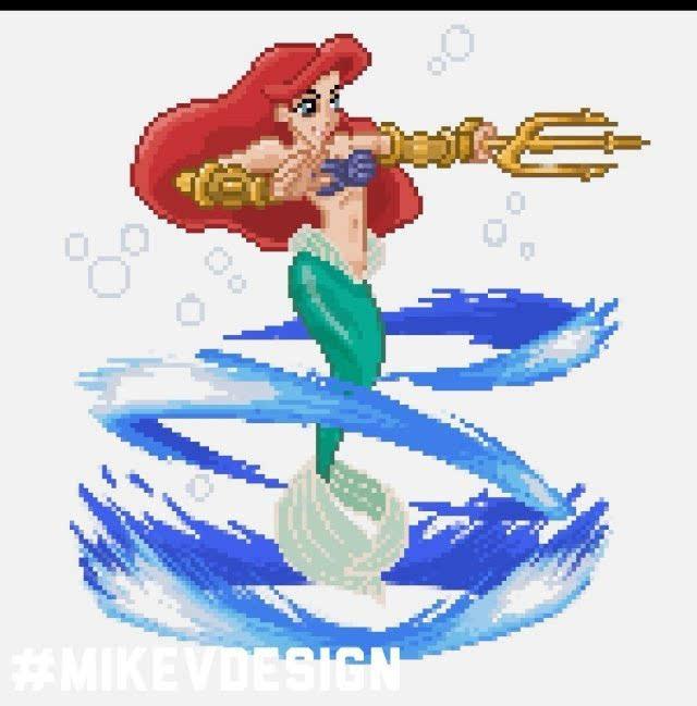 如果迪士尼公主变身功夫高手 水晶鞋和毒苹果也能成为