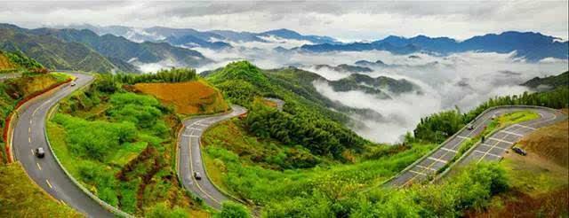 浙江盘山公路,最美的一条在宁波