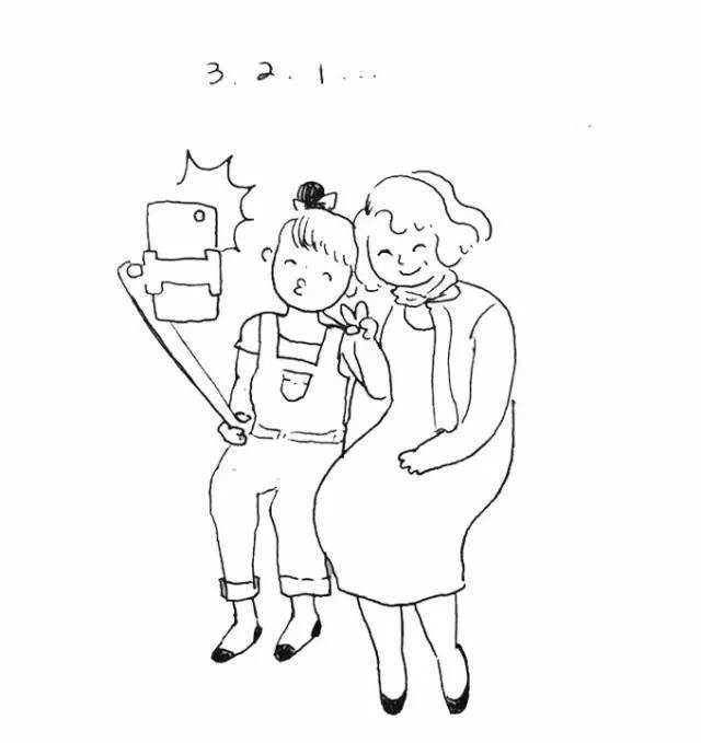 母亲节必须送给妈妈的十件不花钱礼物(手绘版)
