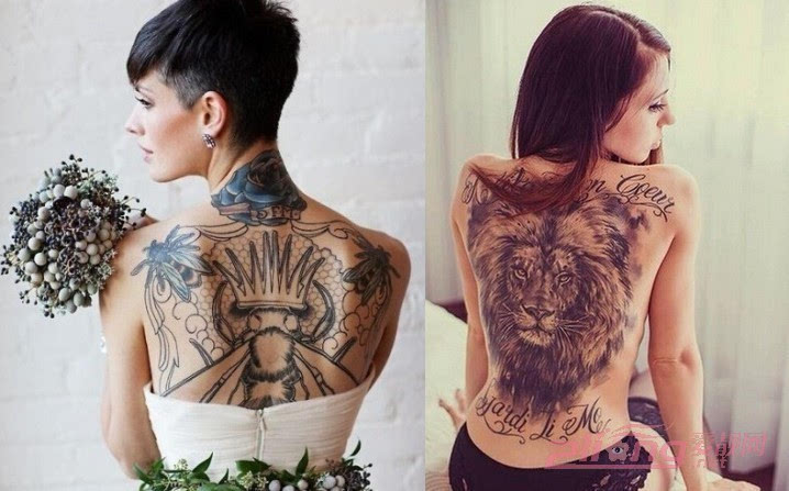 霸气侧漏的满背纹身图案大全,让你充满个性