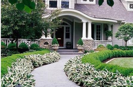 美式别墅庭院搭配
