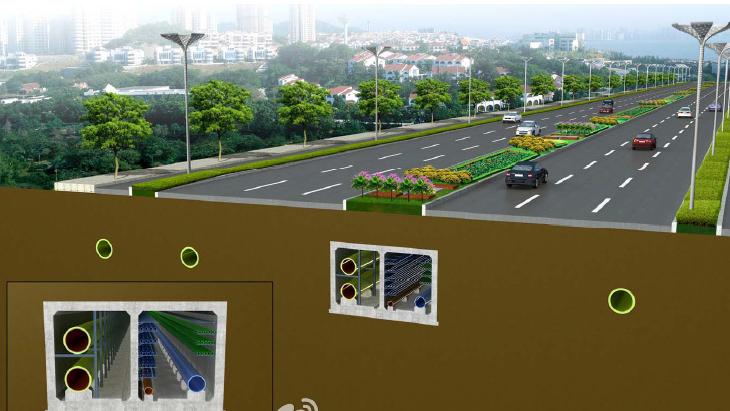 南宁入选全国地下综合管廊试点城市