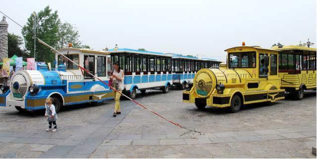 西安秦岭野生动物园旅游观光车服务藏猫腻