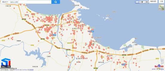 2016年山东省首张职位地图出炉 工作机会沿海沿交通干线分布