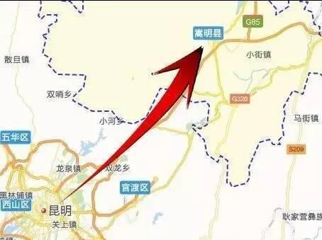 上鹤高速路线图
