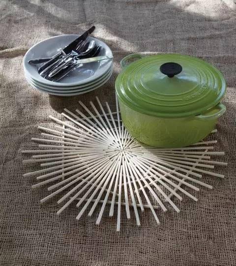 家居diy:一次性筷子的华丽大变身 一次性筷子手工diy教程图片