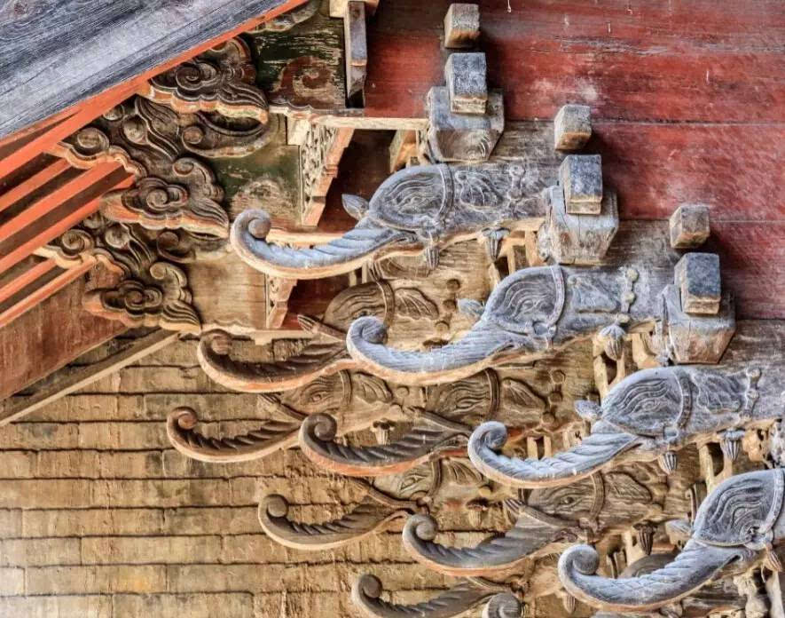 全国仅存的四座唐代木结构建筑是中国建筑史上应用斗拱结构的经典案例