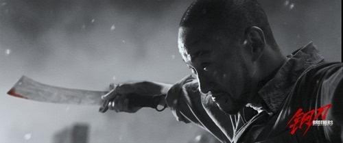 《钢刀》何润东李东学浴火厮杀 残酷版手绘海报尽显动荡乱世