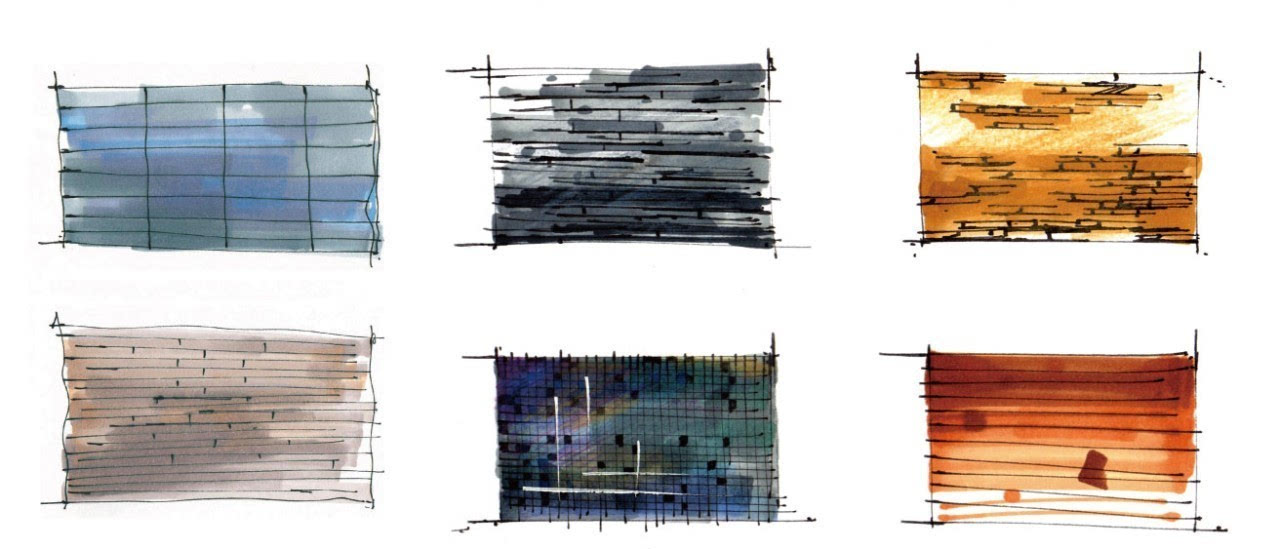 手绘玻璃材质图片