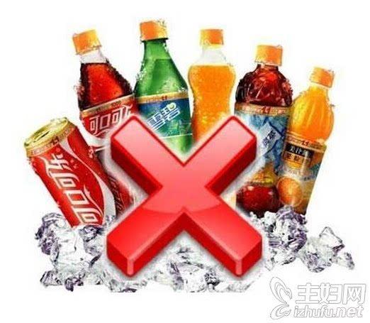 盘点喝碳酸饮料的危害和坏处图片
