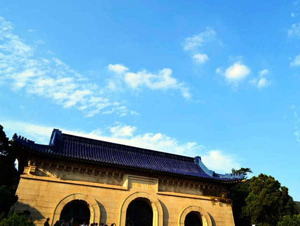 南京旅游攻略 南京中山陵游记