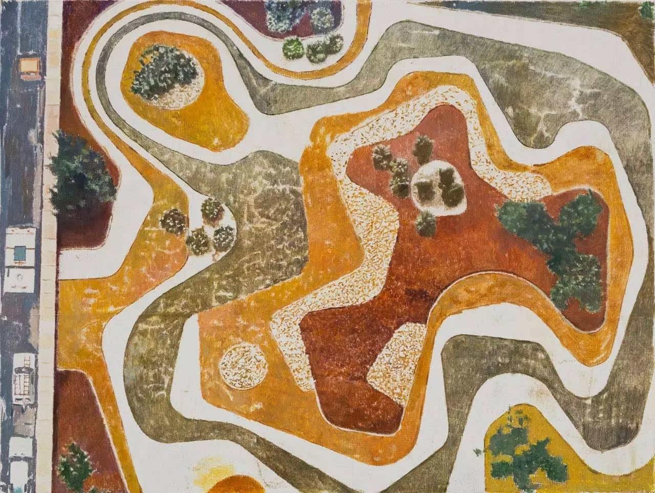 热带植物平面图