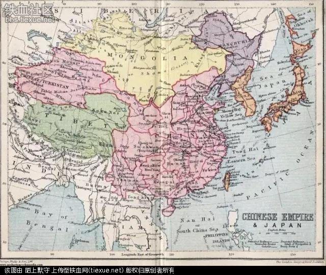 北洋军阀时期,中国的版图在他们的手里达到顶峰