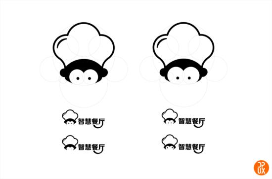 发散了一小波卡通形象,考虑到公司已有的动物形象logo(如下图),将其