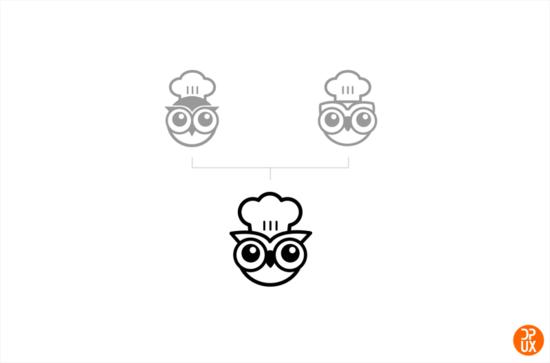 LOGO案例实战 大众点评智慧餐厅Logo设计全过程总结图片