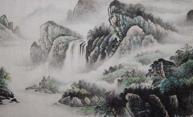 描写山水风光的古诗其中一首 …… 2011-03-19 描写山水风光的古诗整图片