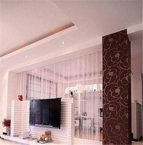 5款客厅电视背景墙设计 并不是地中海才有波浪设计
