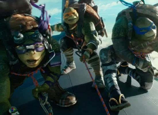 将联合投资《忍者神龟2》图片