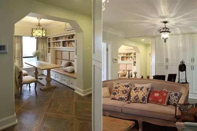 00 ㎡ 户 型:3房2厅1厨2卫1阳台 风 格:美式 选用美式乡村的风格进行
