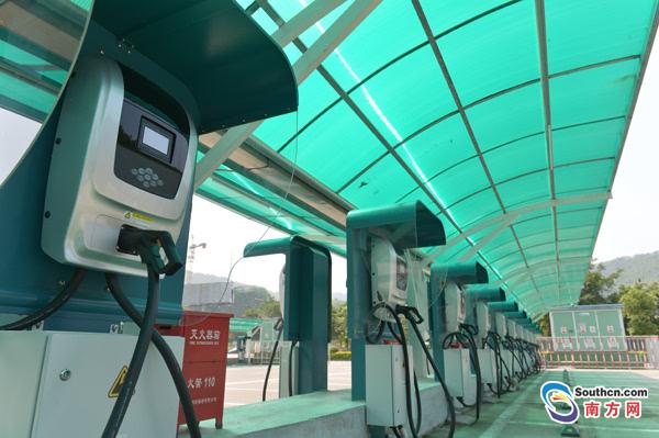 436个新能源汽车充电桩落地惠州