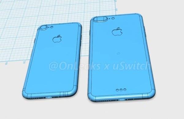 iphone 7 3d cad渲染图视频曝光:变化真不大