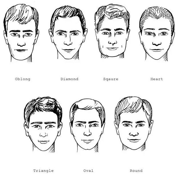 就如同刘海在女生发型中的角色地位一样重要,因此依照脸型修出鬓角