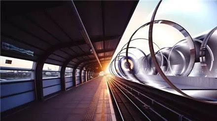 下都能正常行驶的超级高铁列车;不仅速度可媲美飞机