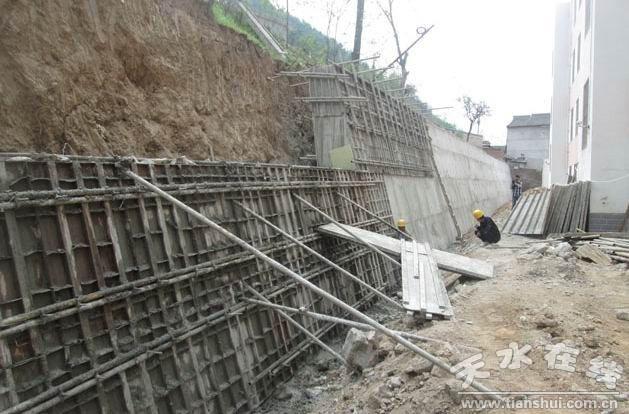 秦州区地质灾害治理工程建设进展顺利(图)-搜狐