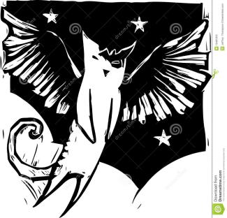 天使猫是一种介于蝙蝠和猫咪之间的