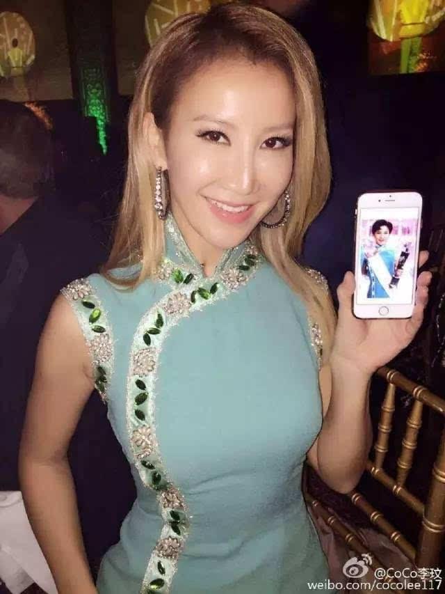 李玟告诉你:41岁的身材,穿21岁的旗袍!图片