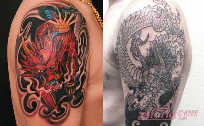 超霸气的麒麟纹身图案大全欣赏