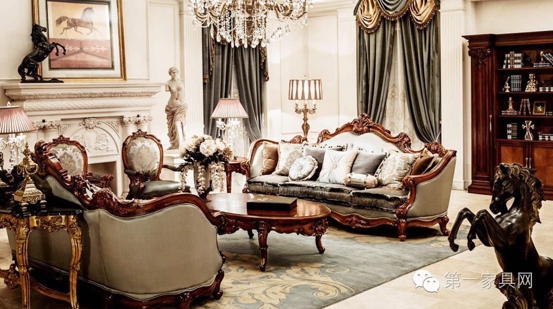 别墅样板房又选大风范欧式家具