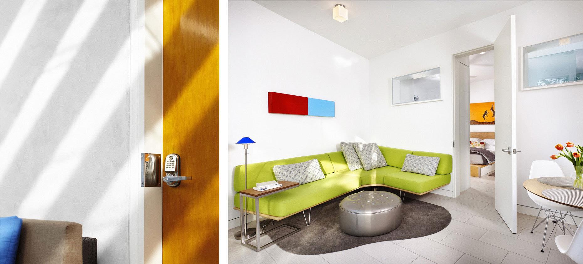 微型酒店室内设计图_如家一般的软装设计