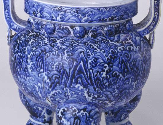繁复的美丽:大明青花瓷上的绘画故事(一)艺术收藏