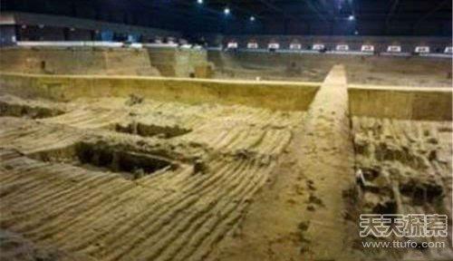 秦始皇的陵墓有没有被发现图片