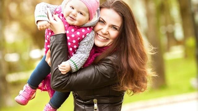 欧美母子幸福唯美图片高清桌面壁纸