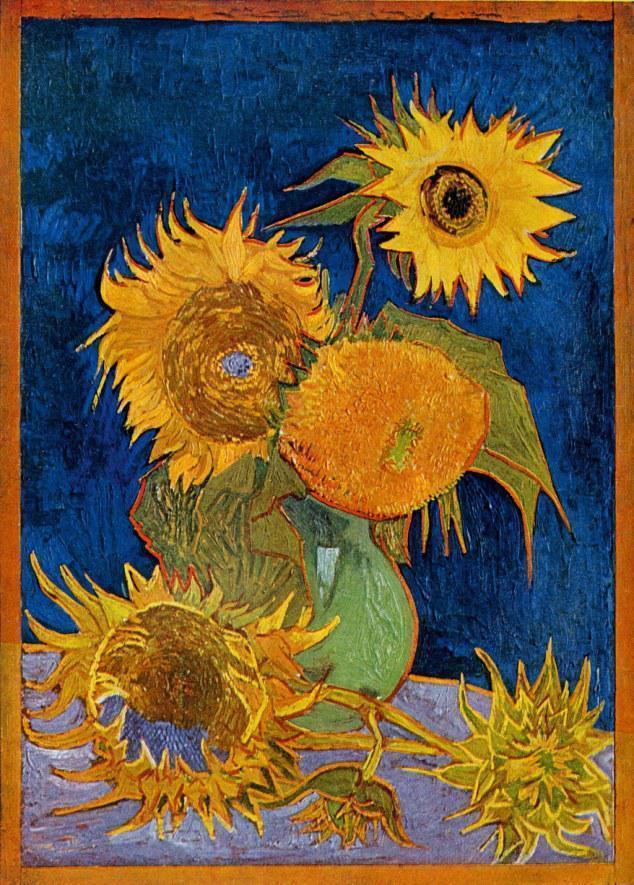 浅析文森特 梵高 向日葵 的诞生