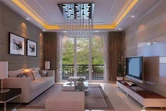 如果阳台虽然把隔断墙拆掉了,但是留出了门框的造型,让阳台跟客厅有了