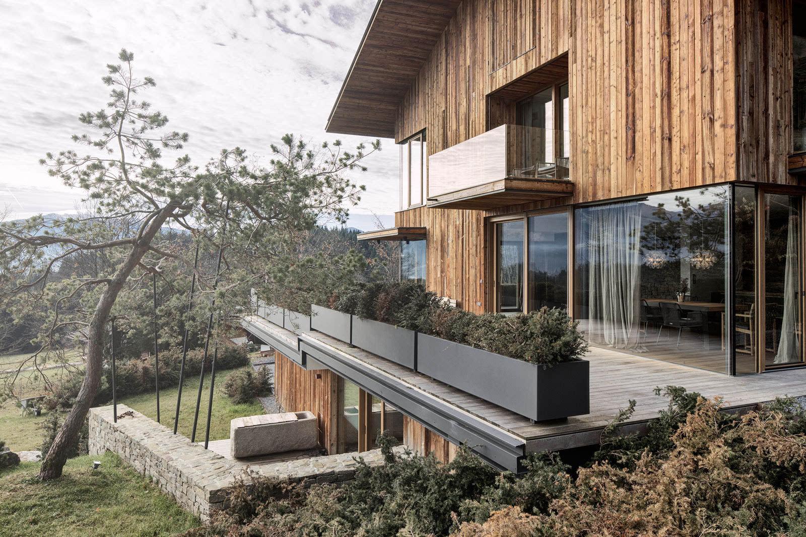 北欧风格二层别墅图片大全