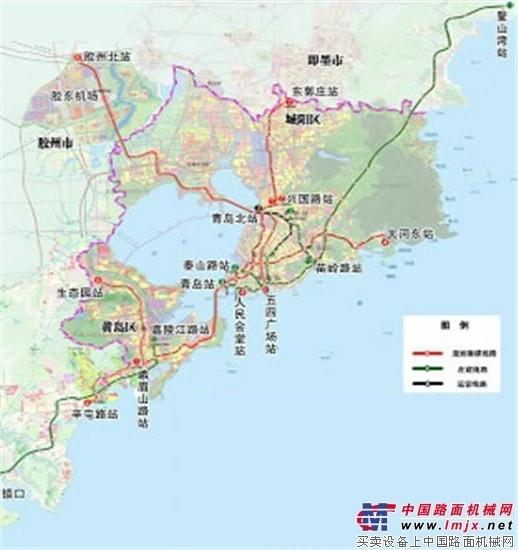 青岛地铁建设规划调整 新增8号线计划今年开工