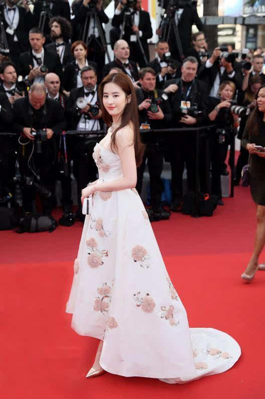 刘亦菲亮相第69届戛纳电影节开幕式红毯5次郎电影图片