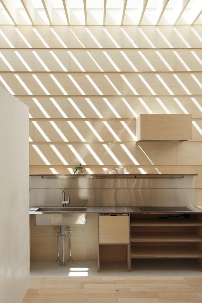 没窗户也能优雅采光_经济型别墅室内设计