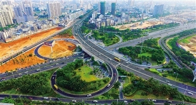 高速 匝道 景观设计